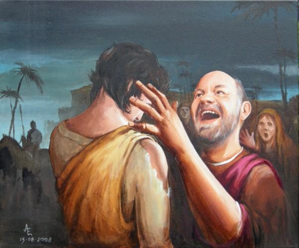 schilderij van de verloren zoon